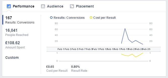 facebook ads real life case study